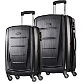 Samsonite Winfield 2 Hardside Expandable Luggage with Spinner Wheels, Brushed Anthracite, 2-Piece Set (20/24)