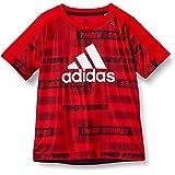 [アディダス] 半袖 Tシャツ キッズ 総柄プリント 半袖Tシャツ 51970