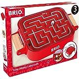 BRIO (ブリオ) ポータブルラビリンス レッド [ 迷路 おもちゃ ] 室内ゲーム 34100