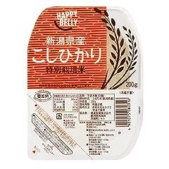 Happy Belly 新潟県産特別栽培米こしひかり