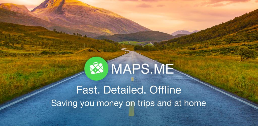 MAPS.ME - オフライン地図