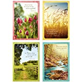 Dayspring Religious Sympathy Greeting Card (12 Cards and Envelopes)