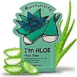 TONYMOLY I'm Real Moisturizing Aloe Mask Sheet, Pack of 1