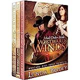 Montana Mail Order Brides Romance Box Set (Westward Series)- Books 1 - 3: Historical Cowboy Western Mail Order Bride Collecti