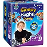 BabyLove SleepyNight Pants, Size 4-7yrs (18-35kg), 27 Nappies (3x 9 pack)