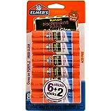 Elmer's Disappearing Purple School Glue Sticks, 0.21 oz Each, 8 Sticks per Pack (E1591)