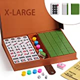 "We pay your sales tax Chinese Numbered X-Large Tiles Mahjong Set. 144 Tiles 1.5 "" Easy-To-Read Game set / Complete set weighs"