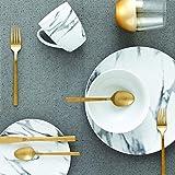 "Safdie & Co. AM02721EC Set-16Pcs, Set includes 4 dinner plates 10.5"", 4 Salad plates 7.5"", 4 bowls 6"" and 4 mugs 360ml, White"