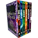 Garth Nix The Seventh Tower Collection 6 Books Box Set (Aenir, Castle, The Fall, Into Battle, Above the Veil, The Violet Keys