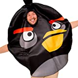 Angry Birds Costume for Adults - Angry Bird Movie Inspired Unisex Costume for Men Women and Couples
