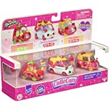Cutie Cars S3  Shopkins Moto Italiano Cutie Cars, 3 pack,