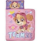Paw Patrol Team Skye Nap Mat Set - Includes Pillow and Fleece Blanket – Great for Boys and Girls Napping at Daycare, Preschoo