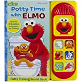 Sesame Street - Potty Time with Elmo - Potty Training Sound Book - PI Kids