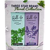 Three Star Brand Aromatherapy Gift Set Pack of 2 (Floral)