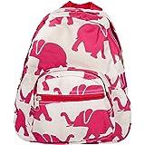 Patterned Design Polyester 11 inch Elementary Preschool Backpack