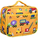 Wildkin Lunch Box, Insulated, Moisture Resistant, and Easy to Clean with Extras for Quick & Simple Organization, Ages 3+, Per