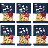 亀田製菓 堅ぶつ しお味 180g×6袋