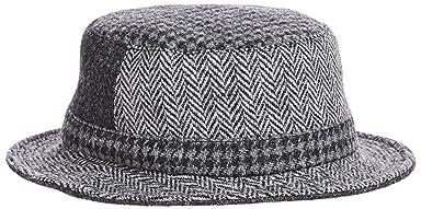 Harris Tweed Hat 11-41-2774-017: Grey