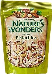 Nature's Wonder Baked Pistachios, 200g