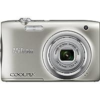 Nikon COOLPIX A100 Optics 5X 2005 Pixels Digital Camera, sliver