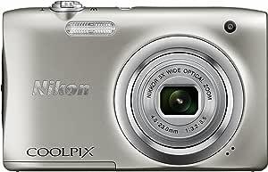 Nikon デジタルカメラ COOLPIX A100 光学5倍 2005万画素 シルバー A100SL