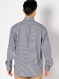 Gingham Buttondown Shirt 111-10-0152: Navy