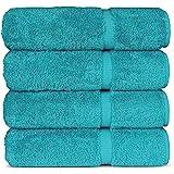 Luxury Hotel & Spa Bath Towel, Cotton, Aqua, 27x54 - Bath Towel