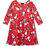 Amy Byer Girls' Cute Ugly Christmas Sweater Style Dress