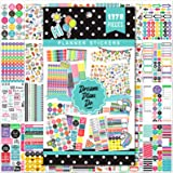 Planner Stickers - 28 Sheets, 1378 Stunning Design Accessories for Journals and Calendars, Essential Planner Accessories by T