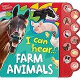 10-Button Super Sound Book I Can Hear Farm Animals