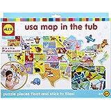 ALEX Toys Bath USA Map in the Tub
