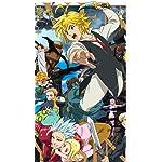 七つの大罪 iPhoneSE/5s/5c/5(640×1136)壁紙 メリオダス他『神々の逆鱗』