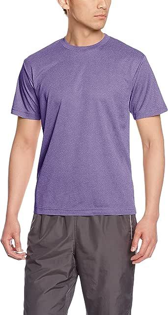 [グリマー] 半袖 4.4oz ドライTシャツ (クルーネック) 00300-ACT ミックスパープル 3L (日本サイズ3L相当)