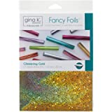 Gina K. Designs for Therm O Web 18124 Fancy Foils, Glimmering Gold