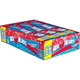 Airheads Candy 2-in-1 Big Bar, Blue Raspberry and Cherry, Stocking Stuffer, Gift, Holiday, Christmas, 1.50 Ounce (Pack of 24)