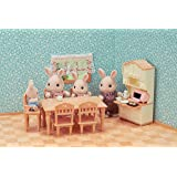 Sylvanian Families 5340 Dining Room Set Accessories