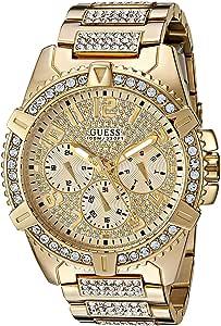 [ゲス]GUESS 腕時計 Dazzling GoldTone Watch with MultiFunction Dial U0799G2 メンズ [並行輸入品]