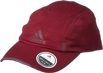 [アディダス] ランニング 帽子 BUH65 メンズ カレッジエイトバーガンディ/ダークラッシュメットF17/ダークラッシュメットF17 日本 OSFZ-(FREE サイズ)