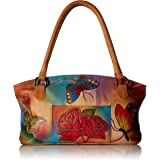 Anna by Anuschka Wide Tote Bag | Genuine Leather