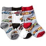 Jefferies Socks Little Boys' Speedy Triple Treat Socks 3 Pair Pack, Speedy, Toddler