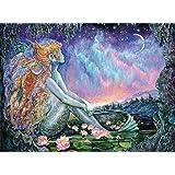 Buffalo Games - Flights of Fantasy - Mermaid Pool (Glitter Edition) - 1000 Piece Jigsaw Puzzle