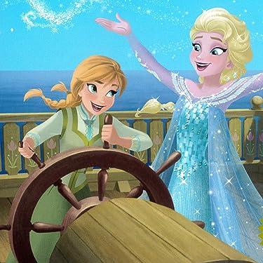 ディズニー iPad壁紙 or ランドスケープ用スマホ壁紙(1:1)-1 - アナと雪の女王 海をこえて