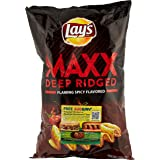 Lay's Maxx Flaming Spicy Potato Chips, 184.2g