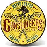 Gunslingers Vegan Friendly Matte Shaper containing Natural Clay with a High Hold and Dry Finish, 75ml