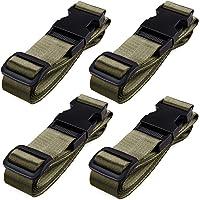 TRIWONDER 荷締めベルト 荷締バンド 多用途 固定ベルト 固定バンド 地震対策グッズ スーツケースベルト 荷崩れ…