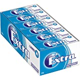 Extra Peppermint Pellet Chewing Gum 10 Piece, 24 x 14g