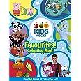 ABC KIDS Favourites Colouring Book (Blue)