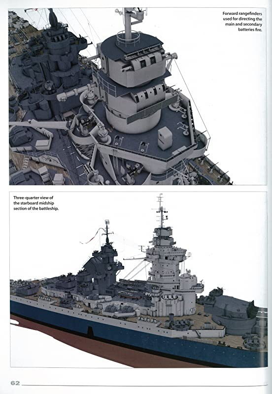 The Battleship Richelieu (Super Drawings in 3D)