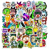 Acekar Rick and Morty Stickers for Hydro Flask, | 50 PCS | Vinyl Waterproof Stickers for Laptop,Skateboard,Water Bottles,Comp