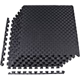 BalanceFrom Puzzle Exercise Mat with EVA Foam Interlocking Tiles for MMA, Exercise, Gymnastics and Home Gym Protective Floori